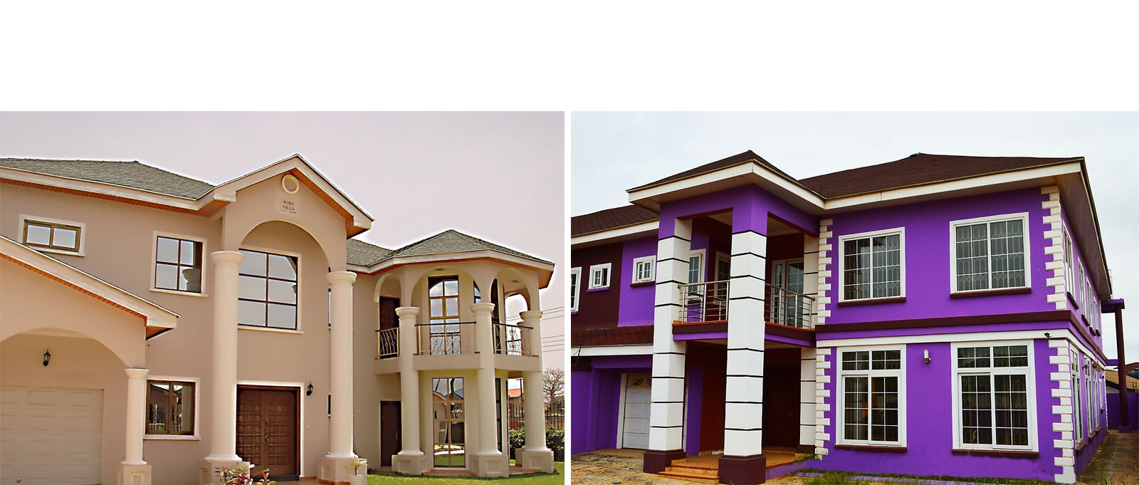Modern houses ghana for Quality houses